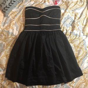 Brand new- PacSun Black Strapless Dress